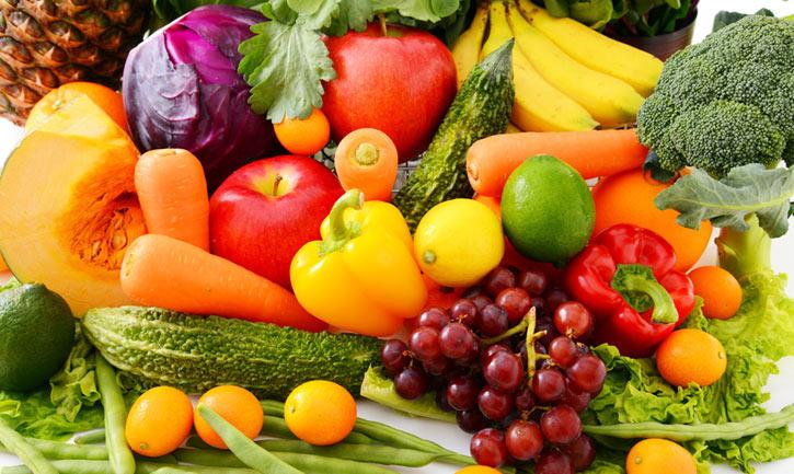 Aumentar el consumo de frutas y verduras mejora tu salud